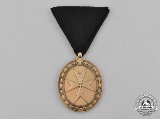 Austria. An Order of St John of Jerusalem, Gold Grade Medal