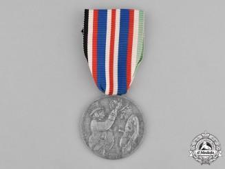 """Italy, Kingdom. An Anti-Partisan Propaganda Medal by the German Propaganda """"Staffel"""" Detachment"""