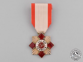 Mexico, Federal Republic. A Medal for Heroic Valour, III Class