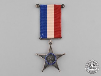 Chile, Republic. A Navy Long Service Star for Fifteen Years' Service