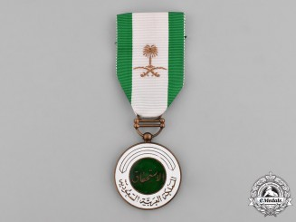 Saudi Arabia. A Military Duty Medal, III Class