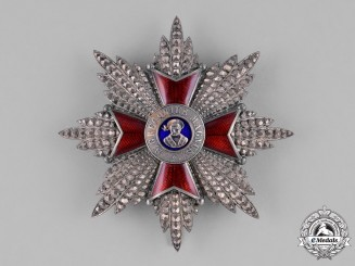 Vatican. An Equestrian Order of St. Gregory the Great, I Class Grand Cross, by J. Godet, c.1910