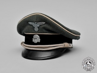 Germany, Waffen-SS. An Officer's Visor Cap, by G.A.R
