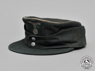 Germany, Waffen-SS. An M43 Officer's Field Cap
