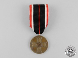Germany.. A War Merit Medal with its Period Original Ribbon