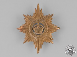 Canada. A Royal Military College Helmet Plate, c.1930