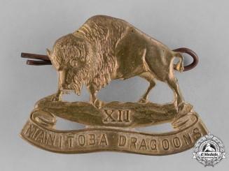 Canada. A 12th Manitoba Dragoons Cap Badge, c.1939