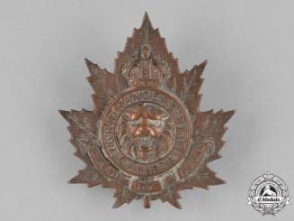 Canada. A York Rangers Regiment Cap Badge