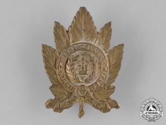 Canada. An Upper Canada College Rifles Cap Badge, c.1945