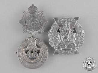 Canada. A Lot of Three Second War Cap Badges