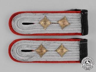 Germany, Heer. A Pair of Heer (Army) Artillery Hauptmann's Shoulder Boards