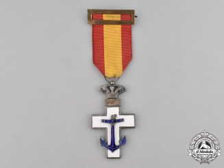 Spain, Kingdom. An Order of Naval Merit, I Class with White Distinction, c.1920