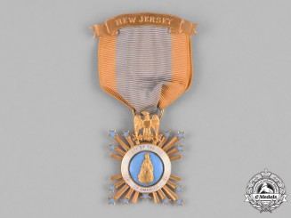 United States. An American Society of the Colonial Dames of America Membership Breast Badge, Named to Mary Rebecca Stewart