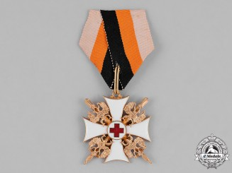 Russia, Imperial. An Order of St. Nicholas the Wonderworker, Officer's Cross