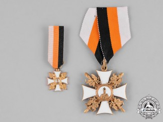 Russia, Imperial. An Order of St. Nicholas the Wonderworker, Knight's Cross