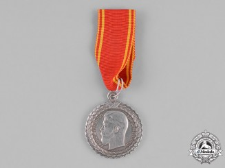 Russia, Imperial. A Medal for Blameless Prison Guard Service