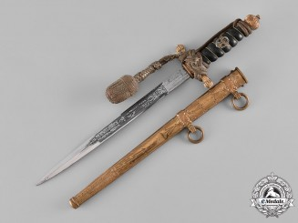 Germany, Water Protection Police. A Wasserschutzpolizei Officer's Dagger, by Eikhorn