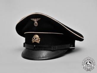 Germany, SS. An Allgemeine-SS NCO's Visor Cap