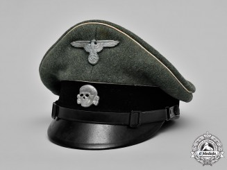 Gemany, Waffen-SS. An EM/NCO's Visor Cap
