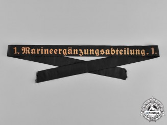 Germany, Kriegsmarine. A Supplementary Battalion Cap Ribbon