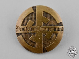 Germany, Third Reich. A German Gymnastics Association Membership Badge