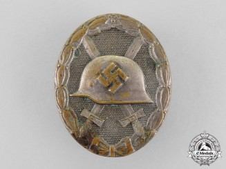 Germany. A Silver Grade Wound Badge by Funke & Brüninghaus, Lüdenscheid