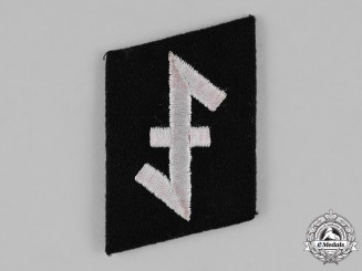 "Germany, SS. A 23rd SS-Freiwilligen Panzer Grenadier Division ""Nederland"" EM/NCO's Collar Tab"