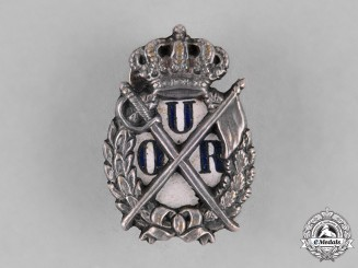 Romania, Kingdom. A Badge of the Reserve Officers Union