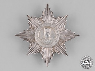 Georgia, Republic. An Order of Queen Tamara, Third Class Breast Star