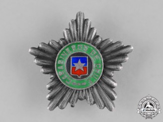 Chile, Republic. A Chilean Police Force Merit Star c.1990