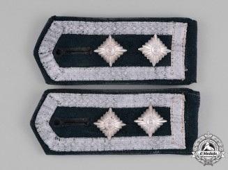 Germany, Heer. A Pair of Oberfeldwebel's Transitional Shoulder Straps