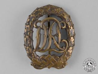 Germany, Third Reich. A Bronze Grade DRL Sports Badge, by Wernstein Jena