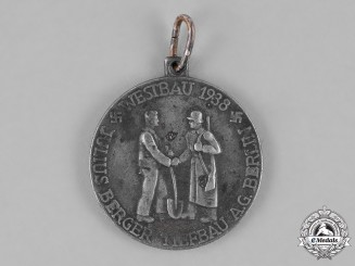 Germany, Third Reich. A 1938 Comemmorative Westwall Construction Medal