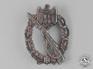 Germany, Heer. A Silver Grade Infantry Assault Badge, by Juncker