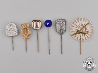 Germany, Weimar. A Lot of German Stick Pins