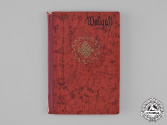 Germany, DAF. A Labour Front Book Belonging to Gerhard Wollgast