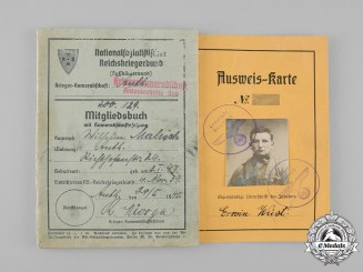 Germany, Third Reich. A Pair of Second War Documents