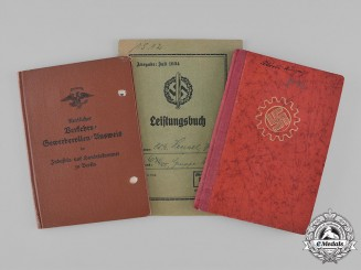 Germany, Third Reich. A Lot of Third Reich Period Documents