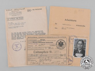 Germany, Third Reich. A Lot of Second War Period Documents