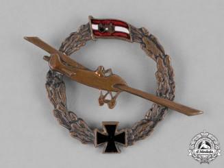 Austria-Hungary, Empire. An Austro-Hungarian Empire Patriotic Flyer's Badge