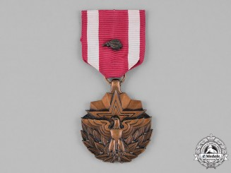 United States. A Meritorious Service Medal with Oak Leaf Cluster, to G. Quinsenberry