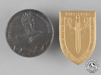 Germany, Weimar. A Pair of Interwar Period Commemorative Badges
