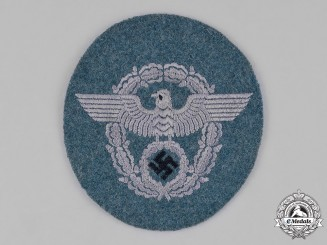 Germany, Ordnungspolizei. A German Police Administration Sleeve Insignia, c.1942