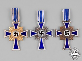 Germany, Third Reich. A Group of Honour Crosses of the German Mother