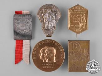 Austria, First Republic. A Lot of Commemorative Badges