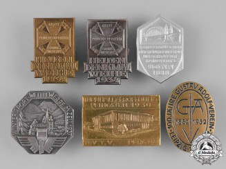 Germany, Third Reich. A Lot of Second War Period Commemorative Badges