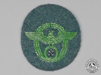 Germany, Ordnungspolizei. A Schutzpolizei Sleeve Eagle
