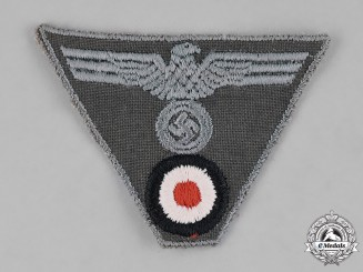 Germany, Wehrmacht. A Wehrmacht NCO M43 Cap Insignia