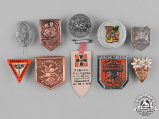 Germany, Third Reich. A Group of German Day Badges and Tinnies