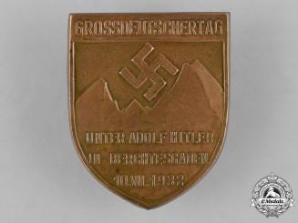 Germany, Third Reich. A 1932 Grossdeutschertag (Day of Greater Germany) Berchtesgaden Badge